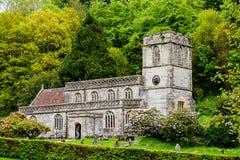Stourton-Kirche Stockfoto