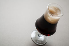 Stout on gray Royalty Free Stock Image