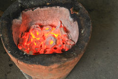 Stove. A stove in Bangkok, Thailand Royalty Free Stock Photos