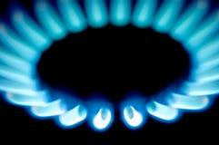Stove 3. Macro shots of some stove burners in the dark Royalty Free Stock Photo