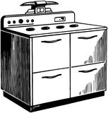 Stove Royalty Free Stock Photography