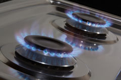 Stove  burners Stock Images