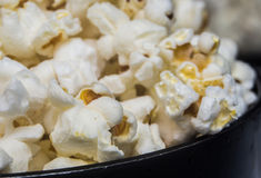 Stove cooked popcorn Royalty Free Stock Photos