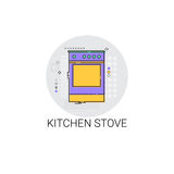 Stove Cooking Utensils Kitchen Equipment Appliances Icon Stock Images