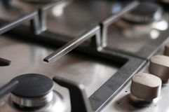 Stove in detail Stock Photo