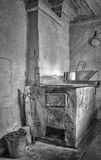 Stove on a kitchen Stock Photography