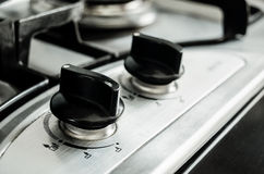 Stove panel Royalty Free Stock Photography