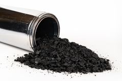 Stove pipe with Creosote. royalty free stock images