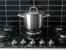 Stove Top Cooking Royalty Free Stock Photo