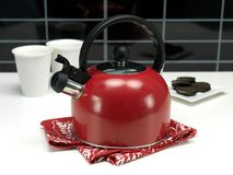 Stove Top Kettle Royalty Free Stock Photos
