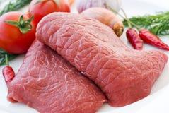 Stovend Lapje vlees Royalty-vrije Stock Afbeeldingen