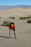 Stovepipe quillt Sanddünen hervor Stockfoto