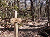 Stover liten vikskydd--Appalachian slinga Royaltyfri Bild