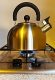 Stovetop whistling kettle Stock Photography