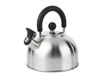 Stovetop whistling kettle Royalty Free Stock Images