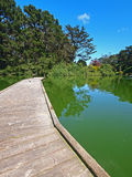 Stow Lake of Golden Gate Park in San Francisco Stock Image