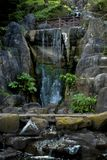 Stow Lake Waterfall royalty free stock images