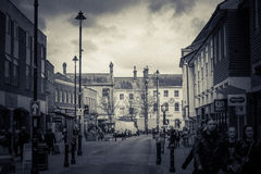 Stow Targowy miasteczko fotografia stock