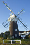 Stow Windmill - Maudsley - Norfolk - England. Stow Windmill in the village of Maudsley on the Norfolk Broads in south east England Royalty Free Stock Photo