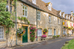 Stow on the wold stock image