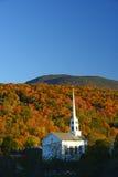 Stowe church autumn Stock Image