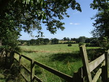 Northamptonshire countryside in the summer Royalty Free Stock Image