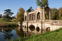 Stowe Landscape Garden In UK Royalty Free Stock Photography