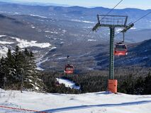 Free Stowe Mountain Ski Resort Royalty Free Stock Photo - 207133685