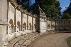 Stowe - the temple of the british worthies Royalty Free Stock Photo