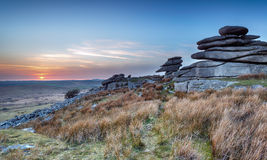 Stowes Hill on Bodmin Moor Stock Photo