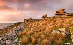 Stowes Hill on Bodmin Moor Stock Photography