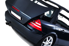 Stowing and storage of a cabriolet hardtop Stock Photography