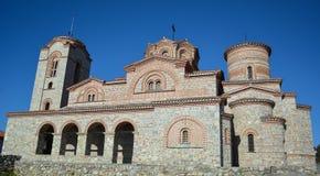 StPanteleimon修道院在奥赫里德 库存图片