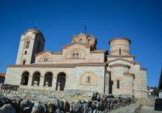StPanteleimonklooster in Ohrid Royalty-vrije Stock Foto