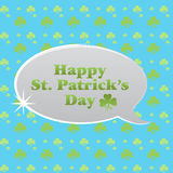 StPattyPattern3 illustration stock