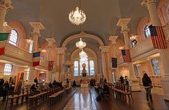StPaul教堂里面,纽约,美国 免版税库存照片