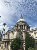 StPauls Kathedrale, London, Vereinigtes Königreich stockbilder