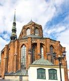 StPeter的大教堂,里加,拉脱维亚 免版税库存图片