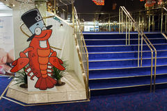 StPETERBURG, RUSSIA - 24 ottobre: Stanze interne della principessa Maria del traghetto, il 24 ottobre 2016 Immagini Stock
