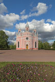 StPetersburg的,俄罗斯Chesma大教堂 免版税库存照片