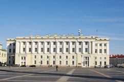StPetersburg Rosja, Październik, - 7, 2014: widoki kwatery główne buduje strażników korpusów na pałac kwadracie Obraz Stock