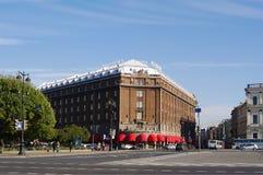 StPETERSBURG, RUSSIE - 7 octobre 2014 : bâtiment de vue d'hôtel 'Astoria' Photographie stock libre de droits