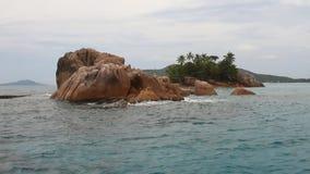 StPierre-Insel, Praslin, Seychellen stock video