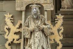 strömförande staty Royaltyfria Bilder