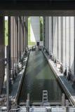 Strépy-Thieu Belgien Arkivbilder
