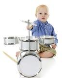 Sträckning för cymbalen Royaltyfri Fotografi