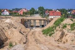 Sträckning i Polen Arkivfoton