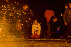 Sträfling BaOmer Feiern, Israel Lizenzfreies Stockfoto