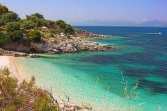 Strände, Inseln, Meer, Klima, tropisch, Sand, Sommer, Himmel, wat Lizenzfreie Stockfotografie