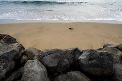 Stränderna av Maui Hawaii Fotografering för Bildbyråer